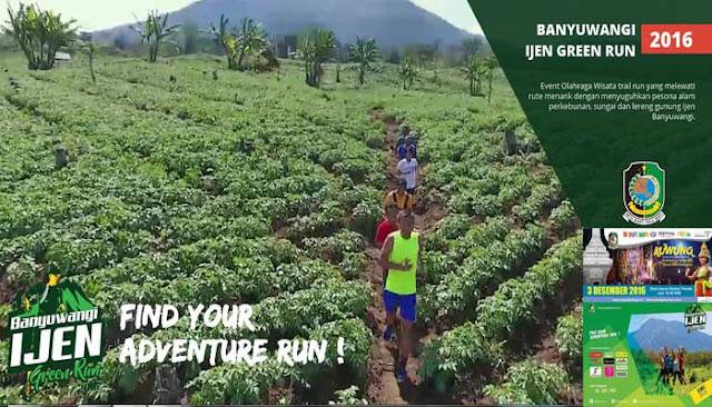 Banyuwangi Ijen Green Run 2016