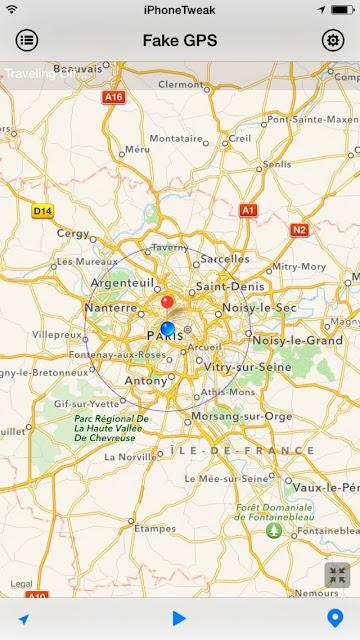 [TWEAK] FAKE GPS PRO - FAKE YOUR GPS NAVIGATION ON IOS