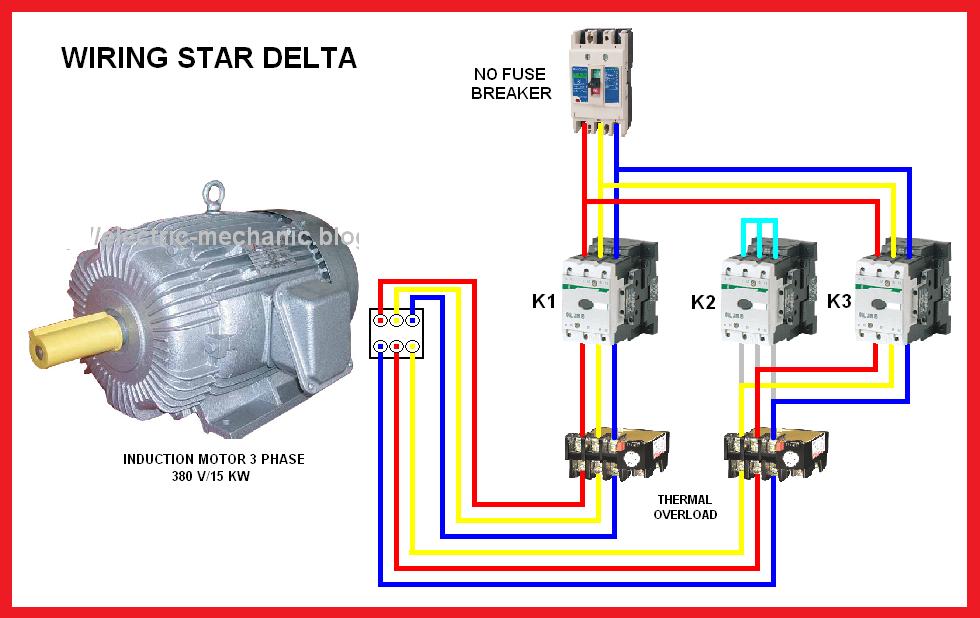 Wye Delta Starter Wiring Diagram Wye Delta Motor Control Schematic