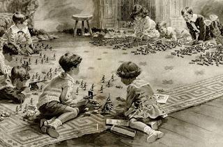 160918; British Empire; France; Germany; Propaganda Postcard; Small Scale World; smallscaleworld.blogspot.com; World War One; World War One Propaganda; WWI; WWI Propaganda Postcard; WWI Toy Soldiers; WWI World War One Propaganda Postcard Germany France British Empire, 160918