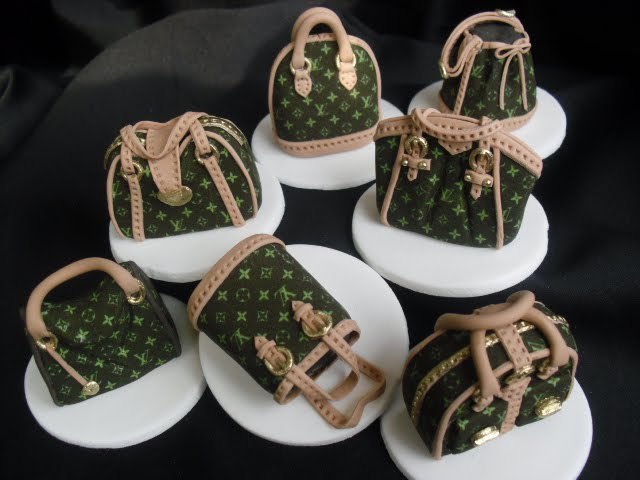 Designer Handbag Cupcake Toppers More Designs To Choose From