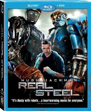 Gigantes de Acero [Real Steel] 2011 BDRip 720p HD Español Latino Descargar