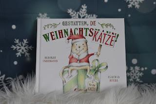Weihnachtskatze Buch für Kinder