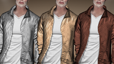 GOLD - SILVER - COPPET JACKET