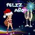 Betty Boop Feliz año nuevo