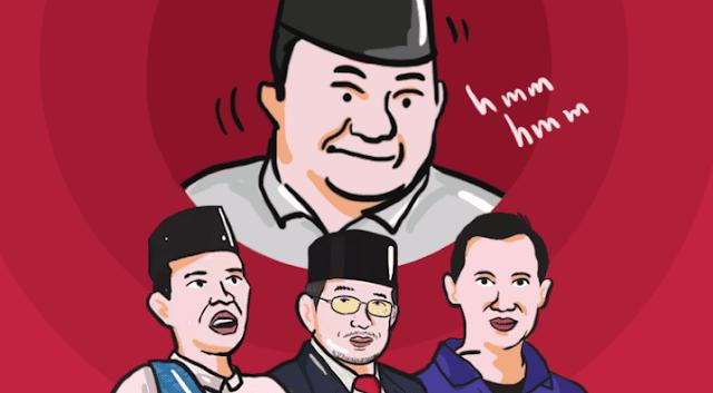 Prabowo Inginkan Cawapres yang Dekat dengan Milenial