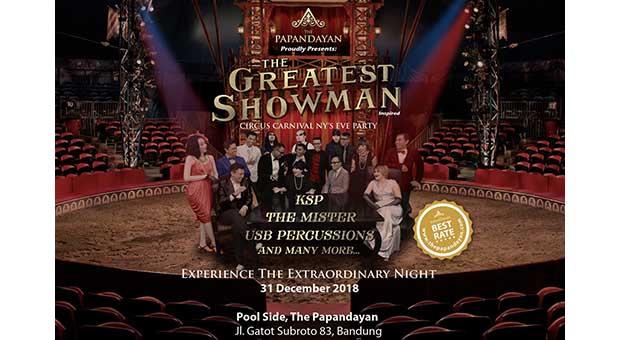 Rayakan Malam Pergantian Tahun ala The Greatest Showman