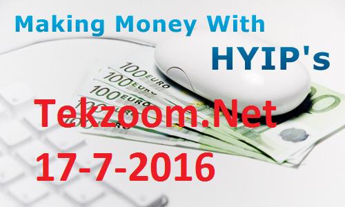 Top site HYIP BTC hot ngày 17-07-2016