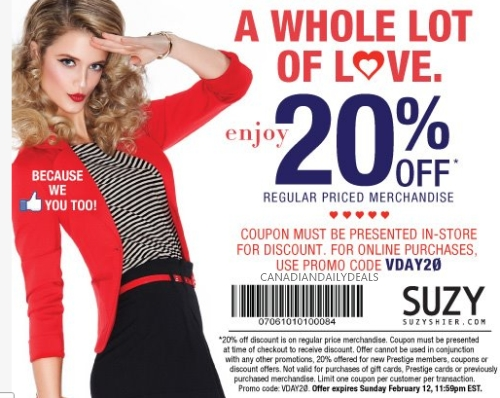 suzy coupons online