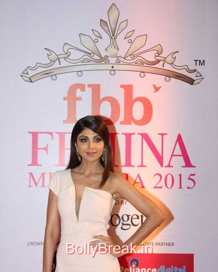 Shilpa Shetty, Grand Finale of Femina Miss India 2015 Photo Gallery