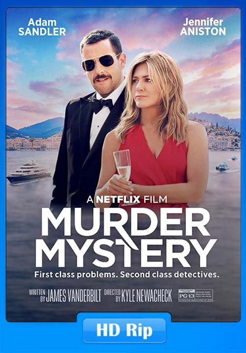 Murder Mystery 2019 Hinid 720p WEBRip x264   480p 300MB   100MB HEVC