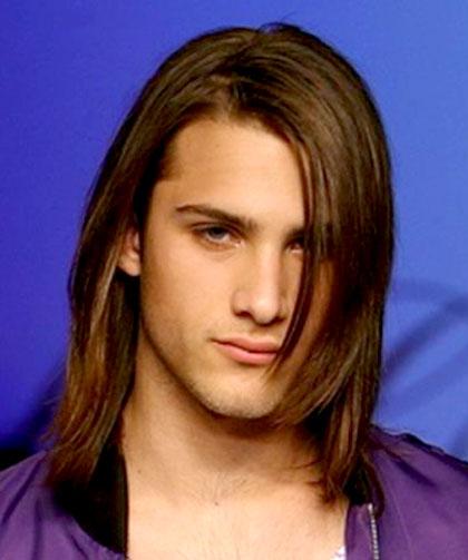 Super dulce peinados hombre pelo largo Galería de cortes de pelo Consejos - El Mundo del Corte y del Peinado: El Pelo largo en los ...