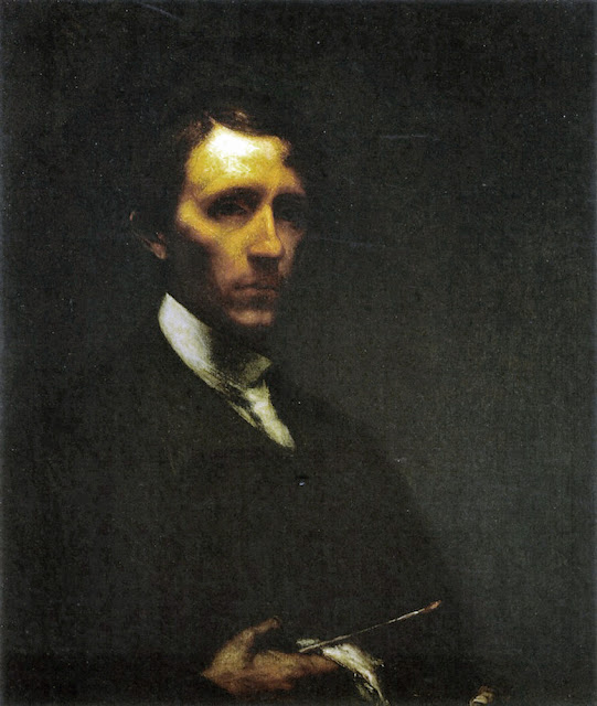 Elliott Daingerfield, Portraits of Painters, Self Portraits