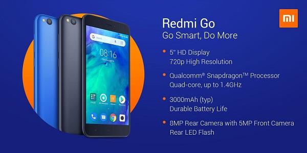 مواصفات Xiaomi Redmi GO