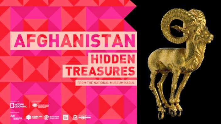 The Bactrian Gold exhibition