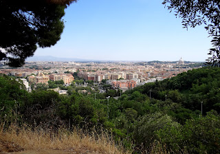 The view across Rome from Monte Mario