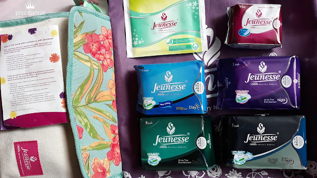 Jeunesse Anion SANITARY NAPKINS Variants : Panty liners, 15.5 cm, 10's (Soft & Smooth Cottony Cover) Day Non-Wing, 23 cm, 8's (100% Cotton Breathable, Ultra Thin Super Absorbent) Day With Wings, 24.5 cm, 8's (100% Cotton Breathable, Ultra Thin Super Absorbent) Night, 28 cm, 5's  (100% Cotton Breathable, Ultra Thin Super Absorbent) All-Night, 32 cm, 5's  (100% Cotton Breathable, Extra long for extra comfort) NEW Singles pack- Day With Wings, 24.5 cm! (Made with Natural Cotton)