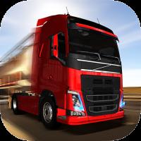 Game Euro Truck Driver Simulator Mod v1.6.0 Apk+Data Terbaru