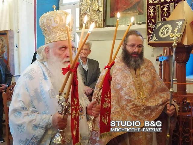 Αρχιερατική Θεία Λειτουργία στο Κιβέρι Αργολίδας για την εορτή του Αγίου Ιωάννου του Προδρόμου
