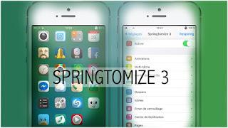 Aplikasi Merubah Tampilan Menu Iphone Dengan Springtomize 3 (IOS 9/8/7) Cydia