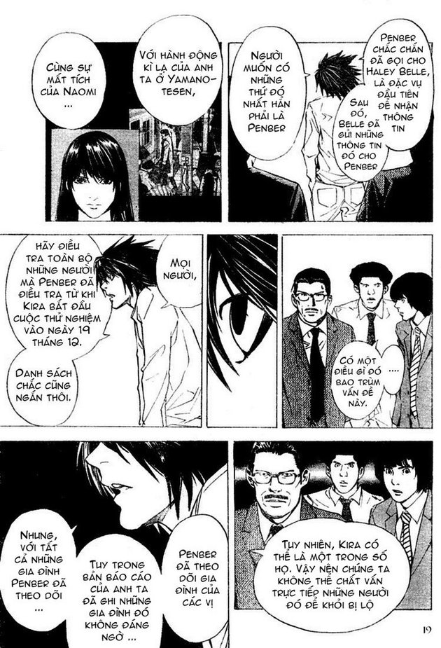 Death Note chapter 015 trang 19