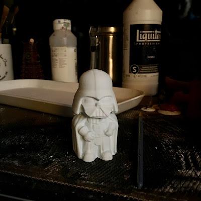 3D Printed cute Darth Vader via foobella.blogspot.com