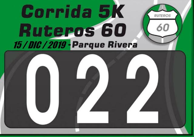 5k Despedida del año de Ruteros 60 en parque Rivera (Montevideo, 15/dic/2019)