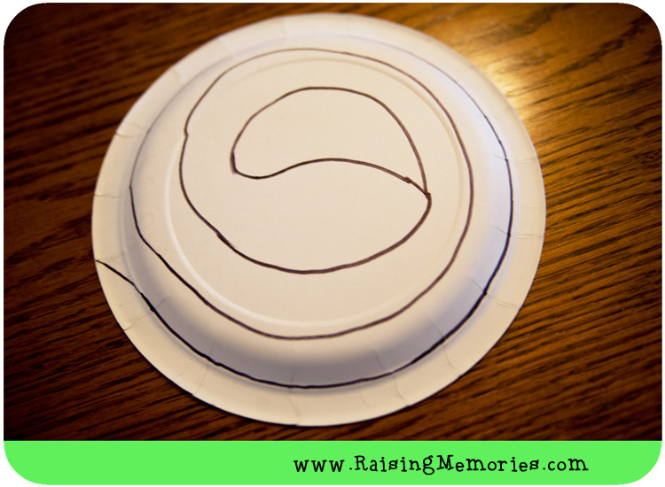 Paper Plate Snake Template