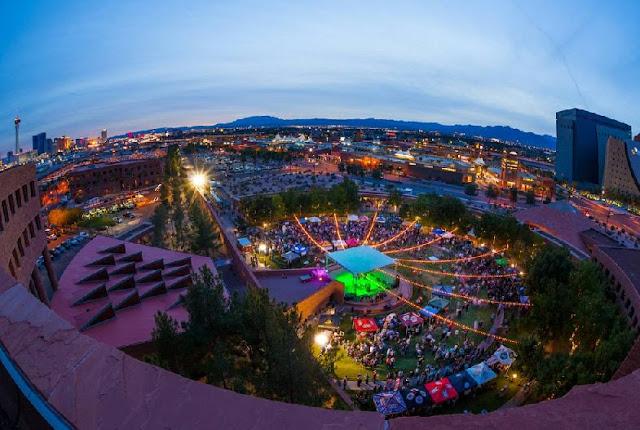 Clark County Amphitheater em Las Vegas