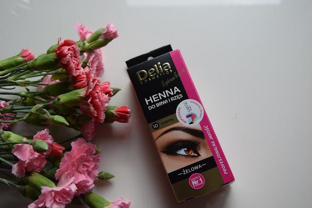 Żelowa henna do brwi Delia
