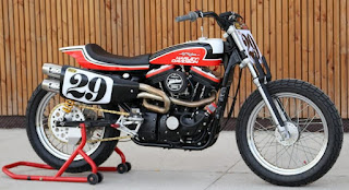 hooligan tracker sportster flat track by bckustoms side right