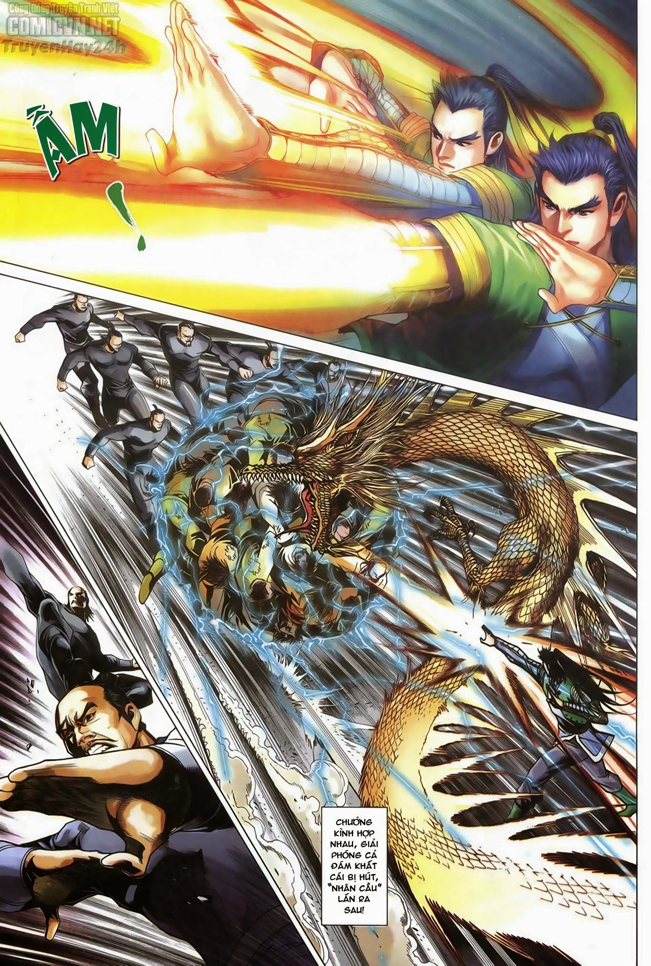 Anh Hùng Xạ Điêu anh hùng xạ đêu chap 67: quyết chiến hiên viên đài trang 11