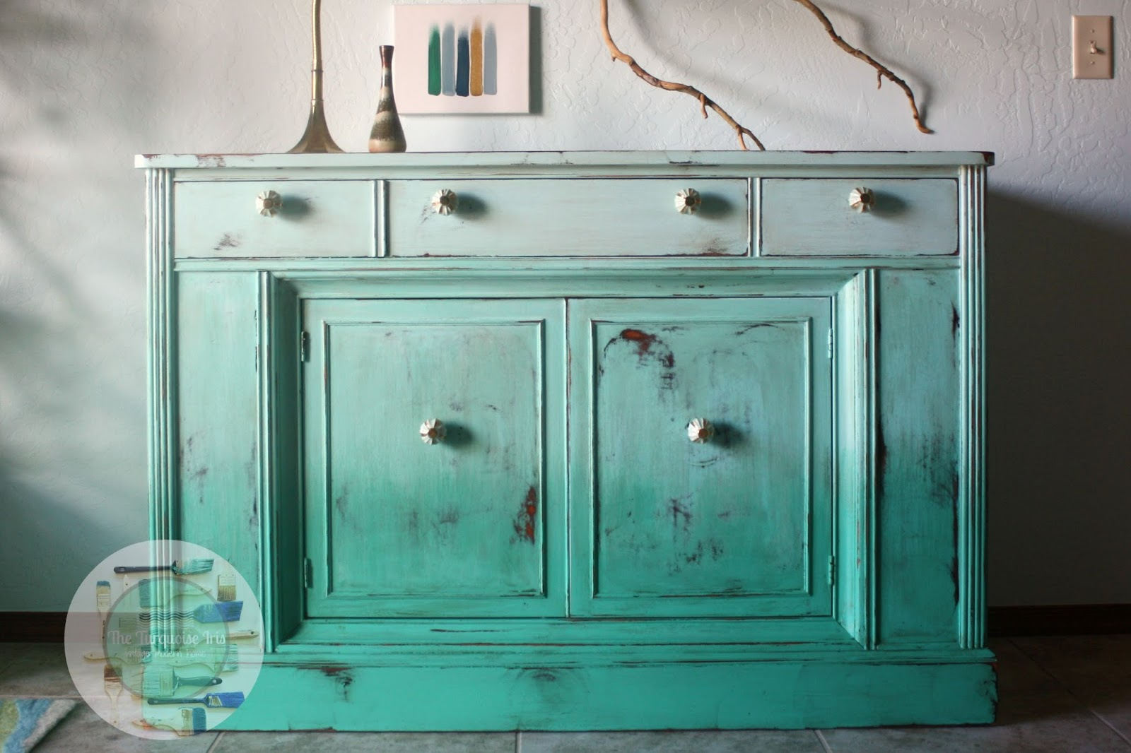 Furniture & Art: Ombre` Buffet In