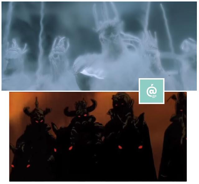 Nazgul - El Señor de los Anillos: Peter Jackson Vs Ralph Bakshi - JRRTolkien - ÁlvaroGP - el fancine - el troblogdita