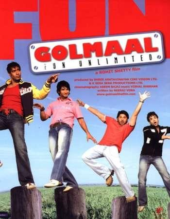 Golmaal Fun Unlimited 2006 Full Hindi Movie DVDRip Free Download