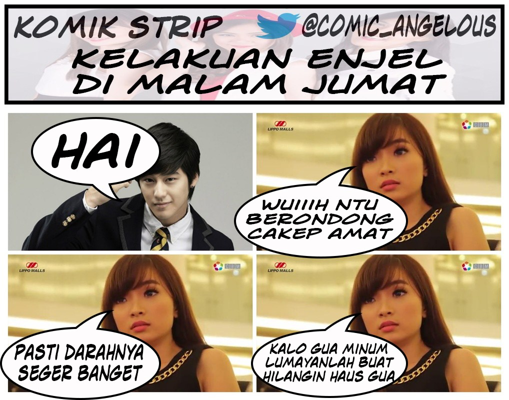Comic Angelous Margareth Angelina Di Mata Gua