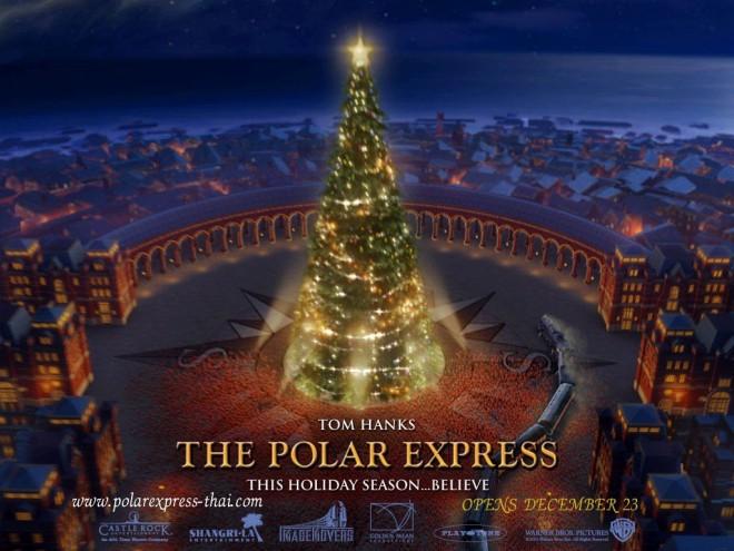 BRIO Polar Express Wooden Train Set Light-Up Christmas ... |Polar Express Train Set Christmas Tree