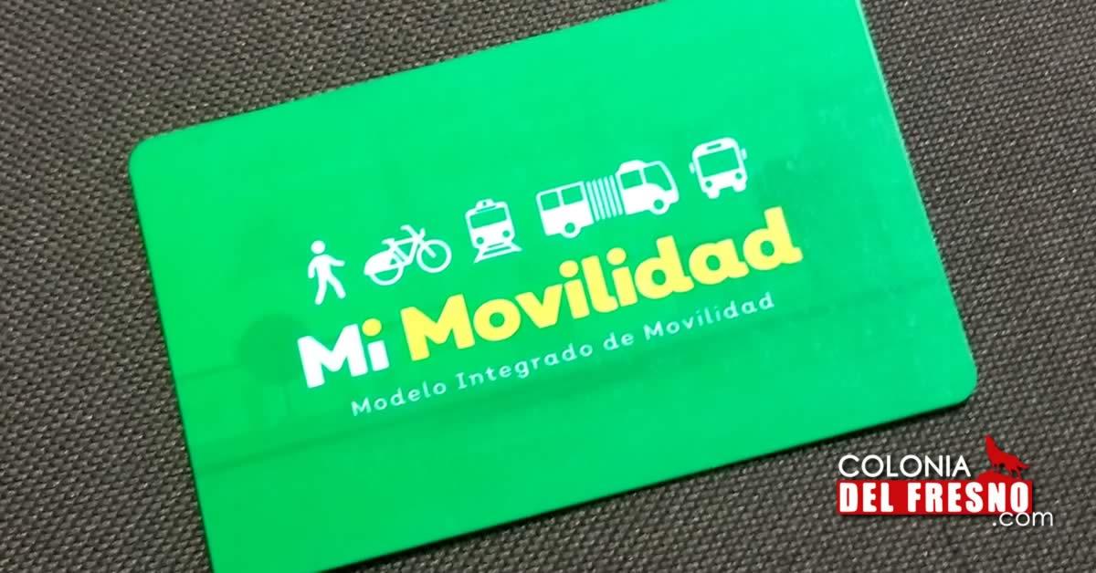 Tarjeta mi movilidad