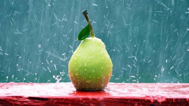 wallpaper buah jambu batu