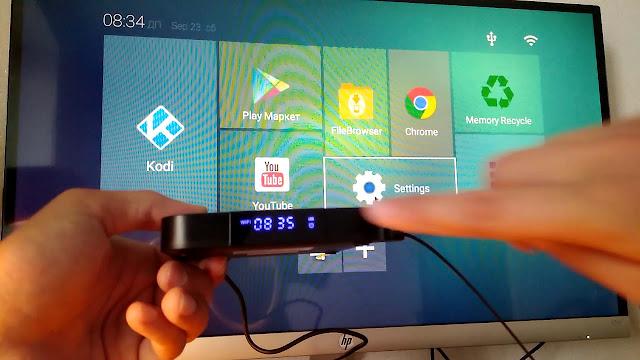 جهاز TV Box لتحويل التلفاز العادي إلى تلفاز ذكي (Smart TV)