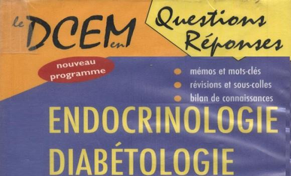 QR Endocrinologie Questions Réponses PDF