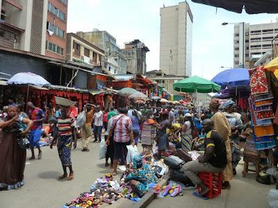 Robbery scene at Iyana-Iba