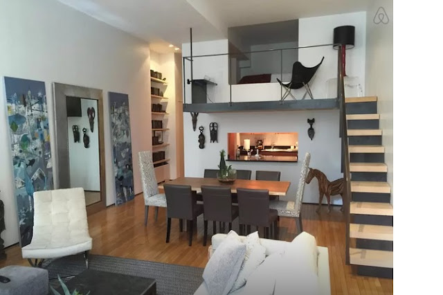 Air BnB Upscale Apartment with Loft