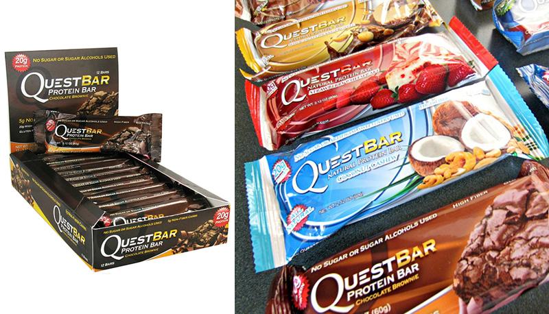 Протеиновые батончики Quest Nutrition