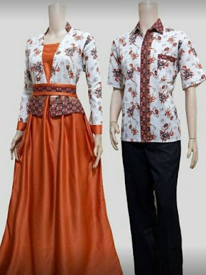 5 Baju Batik Untuk Pasangan Kekasih Yang Hits