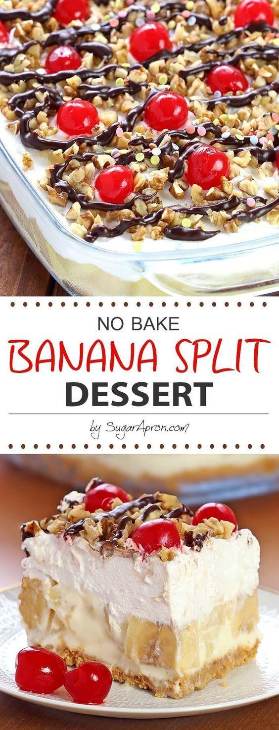 http://sugarapron.com/2016/05/05/no-bake-banana-split-dessert/