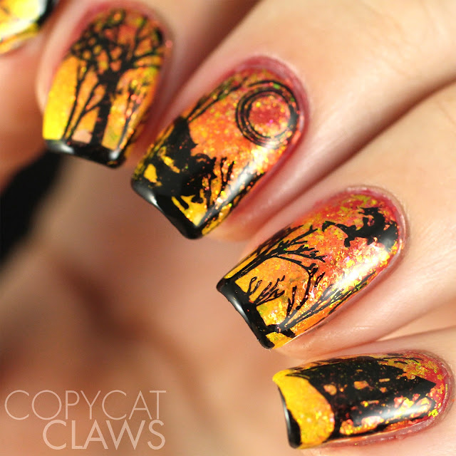 Dragon Nail Stamping