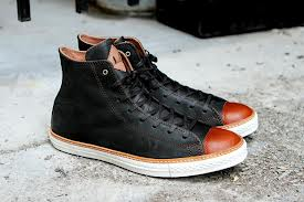 coupon converse x john varvatos center zip black leather original new 383d8  ca3fe  canada converse chuck taylor high premium beluga 53039 8b1ac ab0accd45f