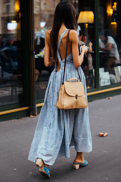 Paris Fashion Week SS18 Street Style