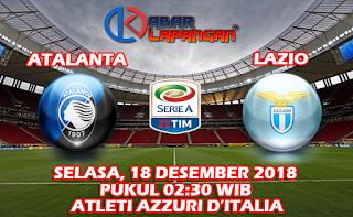 Prediksi Bola Atalanta vs Lazio 18 Desember 2018
